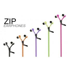 Zipper Style Handsfree για smartphones 3.5mm