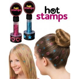 Hot stamps hair glitter Hot 300