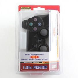 Ασύρματο χειριστήριο με δόνηση για PS2