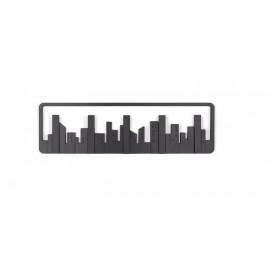 Κρεμάστρα Τοίχου 5 Θέσεων - Wall Shelf Hook City