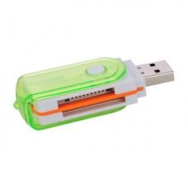 Multifunction 480Mbps usb 2.0 card reader GM-250