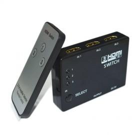 HDMI switch 3 port με Τηλεχειριστήριο