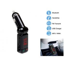 Bluetooth USB/SD MP3 Player & Φορτιστής 2x USB 2A Αυτοκινήτου - Car FM Transmitter XE-710
