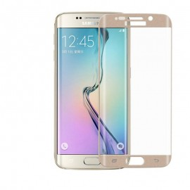 Samsung Galaxy S6 edge PLUS gold Tempered Glass