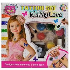 ΣΕΤ TATTOO IT'S MY LOVE 23x23x5cm