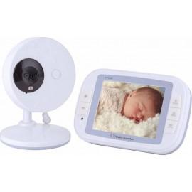 """Ασύρματη Ενδοεπικοινωνία Μωρού με Οθόνη 3.5"""" EU Plug - OEM SP851"""