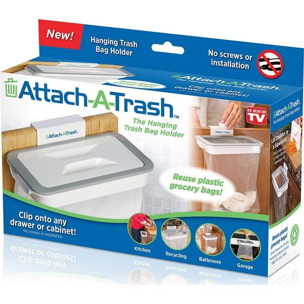 Attach-A-Trash Ο Κρεμαστός κάδος απορριμμάτων