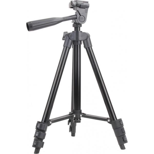 Τρίποδο Φωτογραφικής Μηχανής Πτυσσόμενο 3120A Μαύρο