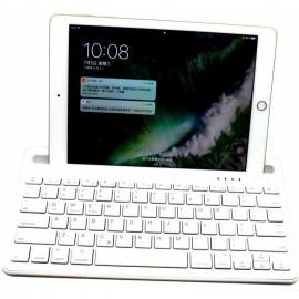 Πληκτρολόγιο Bluetooth RK908 για Smartphone, Tablet, PC και SmartTV Ασημί 24092