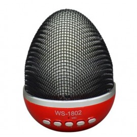 Bluetooth Ηχείο USB/SD Multimedia Speaker Mp3 Player EGG WS-1802