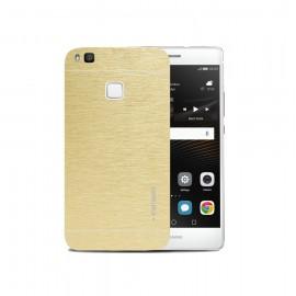 Huawei P9 Lite - Θήκη Αλουμινίου Χρυσό Motomo