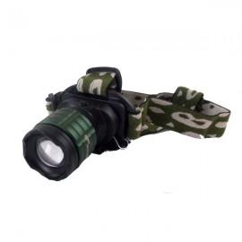 Επαναφορτιζόμενος φακός κεφαλής LED με zoom 2000W BL-6808