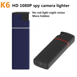 K6 1080P Hidden Spy Camera Lighter Night Vision Camcorder Video Recorders