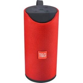 Φορητό Ηχείο T&G TG113 Bluetooth Speaker Κόκκινο