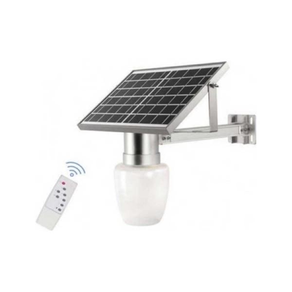 Ηλιακο φωτιστικό 20W με φωτοβολταικό πανελ, τηλεκοντρολ και χρονοδιακόπτη - JD 9909