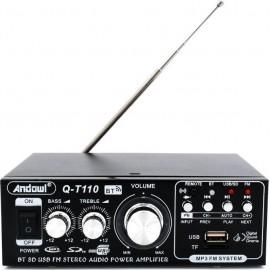 Andowl Τελικός Ενισχυτής Hi-Fi Stereo Q-T110 Μαύρο..