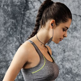 Awei AK4 In-ear Bluetooth Handsfree Μαύρο