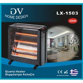 GV Home design LX-1503 Θερμάστρα χαλαζία 3000W